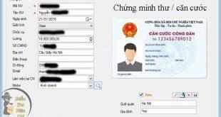 Phần mềm kiểm tra số chứng minh thư CCCD