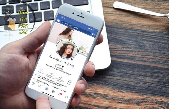 Cách tìm Facebook qua Zalo trên điện thoại iPhone, Android