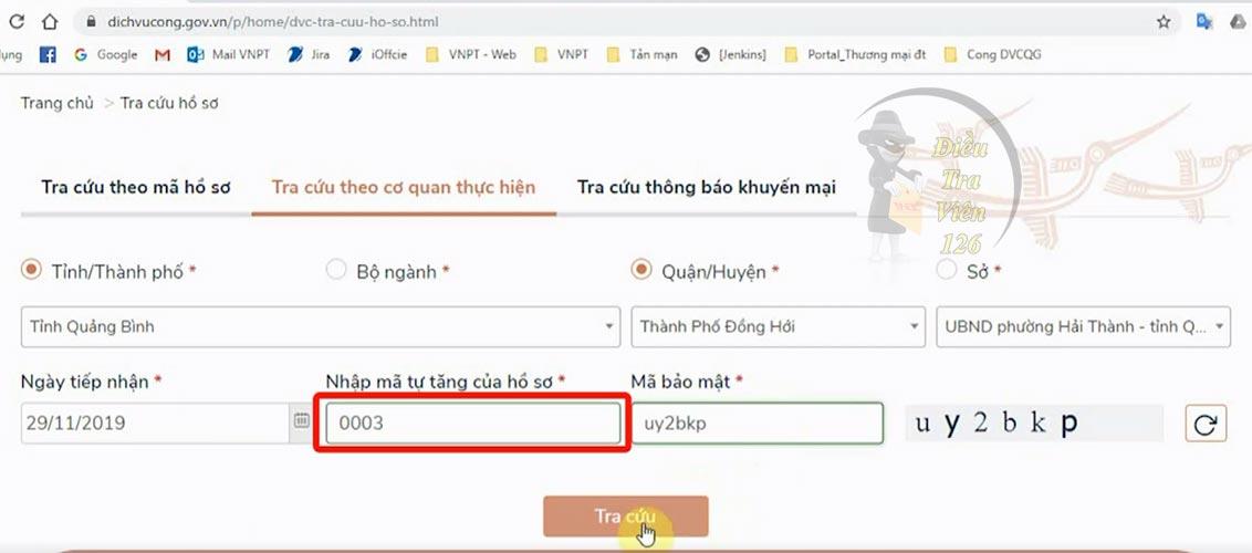 Cách tra cứu số thẻ căn cước công dân online 12 số theo tỉnh thành