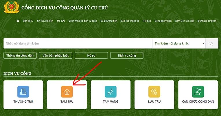 Cách đăng ký khai báo tạm trú online cho người Việt Nam