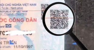 Cách quét mã vạch QR trên căn cước công dân gắn chip online