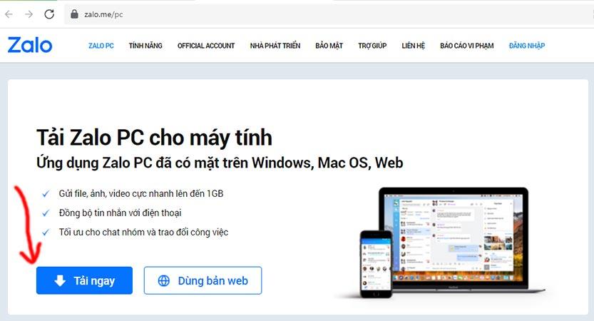 Cách đăng nhập Zalo trên 2 máy tính, laptop