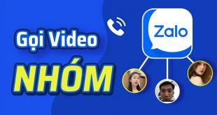 Cách gọi nhóm trên Zalo bằng điện thoại, máy tính có video
