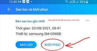 Đăng nhập Zalo trên điện thoại khác bị mất tin nhắn? Cách lấy lại dữ liệu